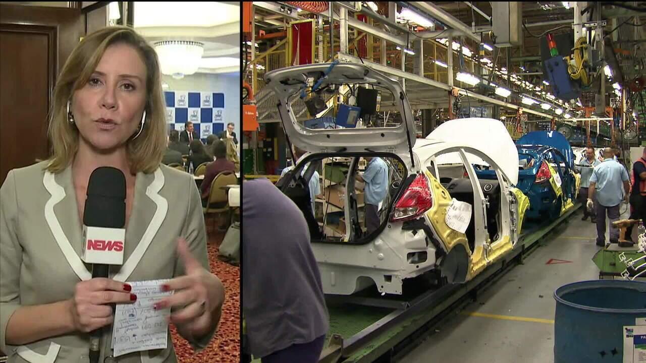 Produção da indústria automobilística cai 15,3% em maio