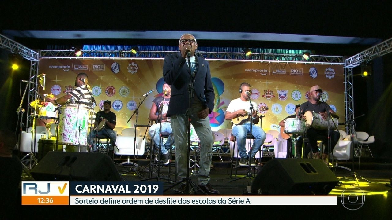 Começam os preparativos pro Carnaval 2019