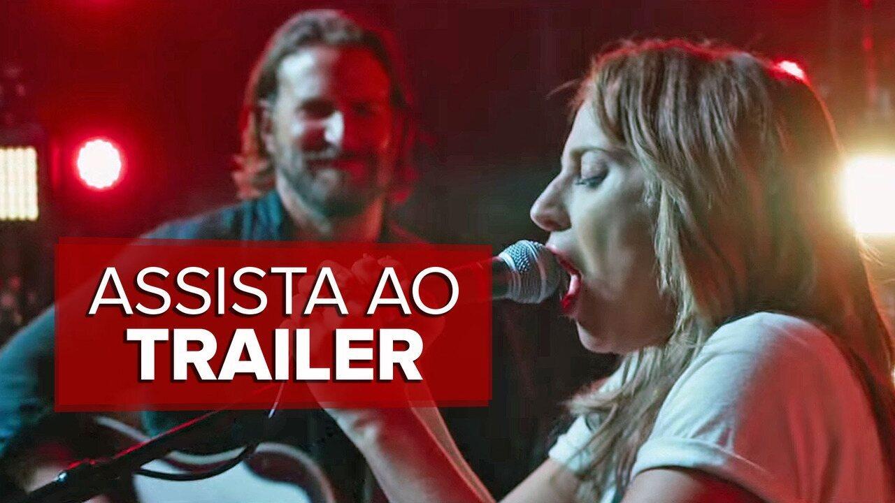 Lady Gaga e Bradley Cooper estrelam trailer de 'Nasce uma estrela'