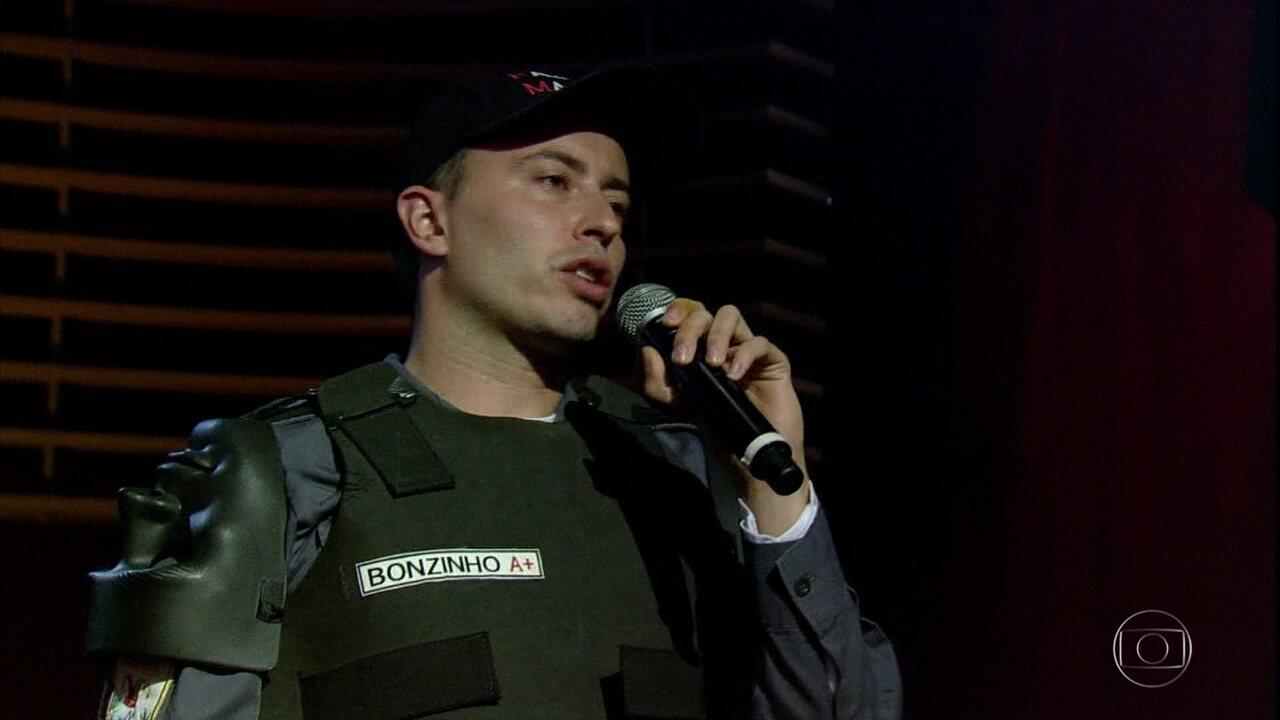 Rafucko faz apresentação sobre a participação da polícia nas manifestações de 2013