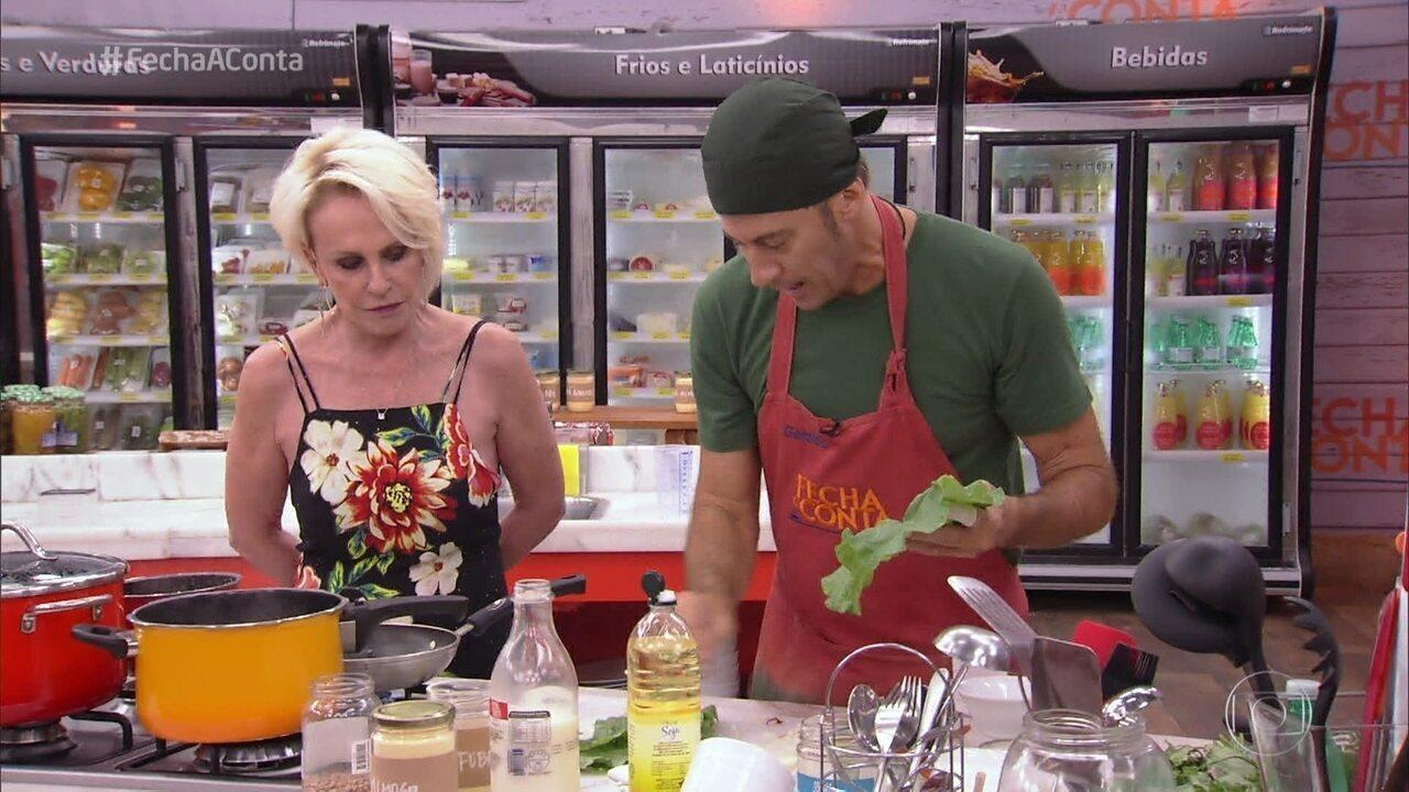 Chefs preparam o cardápio da semifinal do 'Fecha a Conta Comida Mineira'