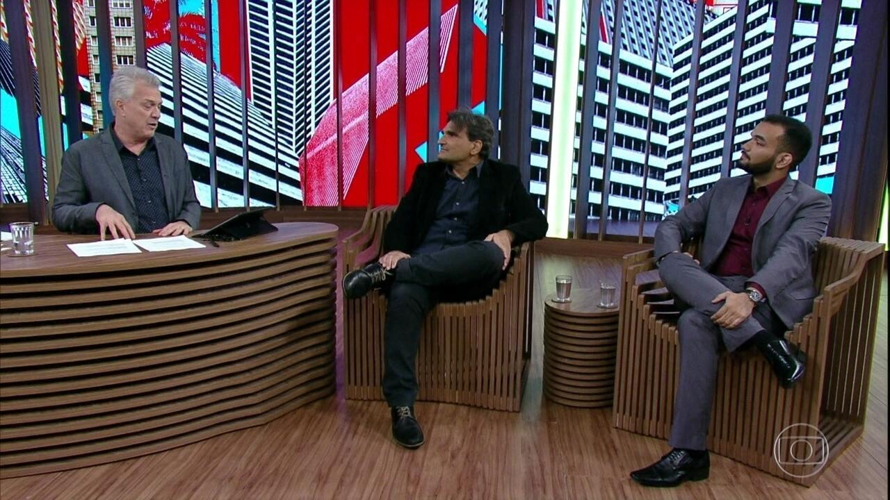 Cao e Luiz Fernando relembram professores inesquecíveis