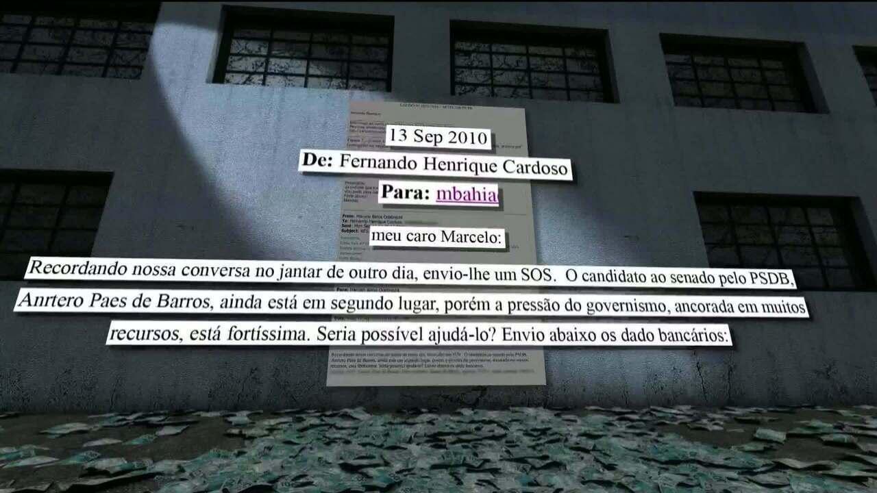 Após pedido de FHC, empresas usadas pela Odebrecht doaram a tucano