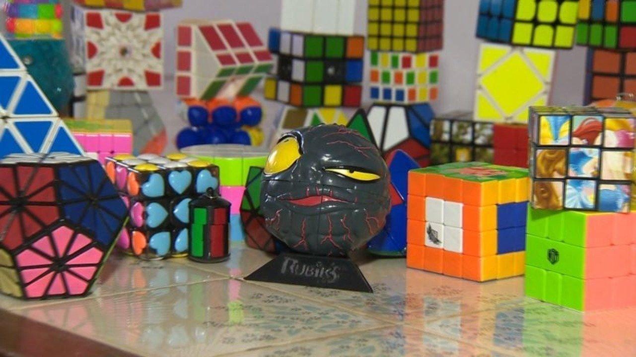 Em Movimento: Conheça capixabas que não têm dificuldade nenhuma em montar cubos mágicos