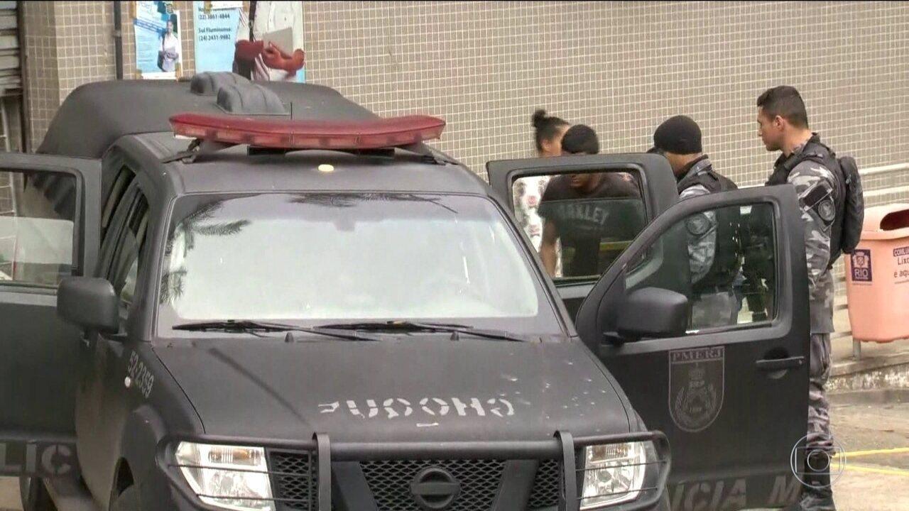 Operação das forças de segurança termina com 16 presos no Rio