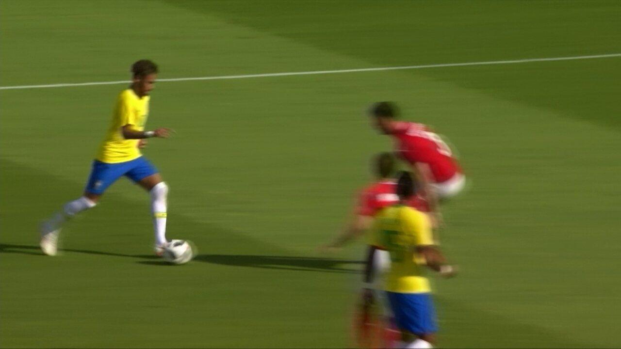 Melhores momentos: Áustria 0 x 3 Brasil em Amistoso Internacional