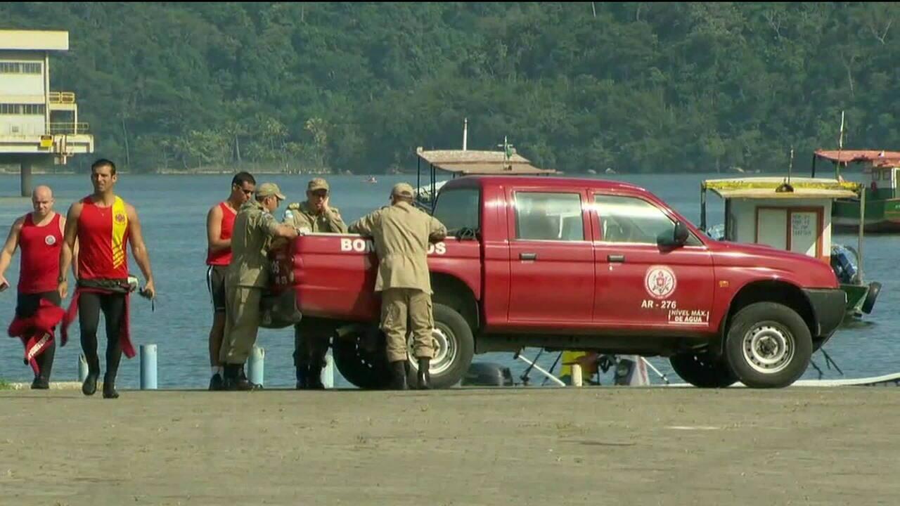 Encontrado o 9º corpo após naufrágios em Itaguaí/RJ