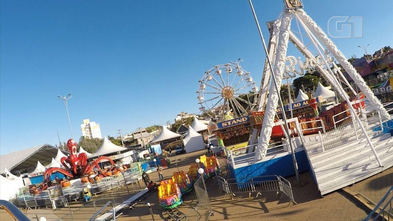 Conheça as atrações do parque de diversões da Festa Junina de Votorantim