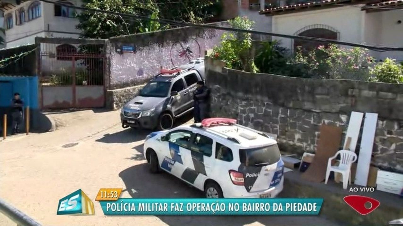 Morro da Piedade amanhece com mais uma operação policial em Vitória