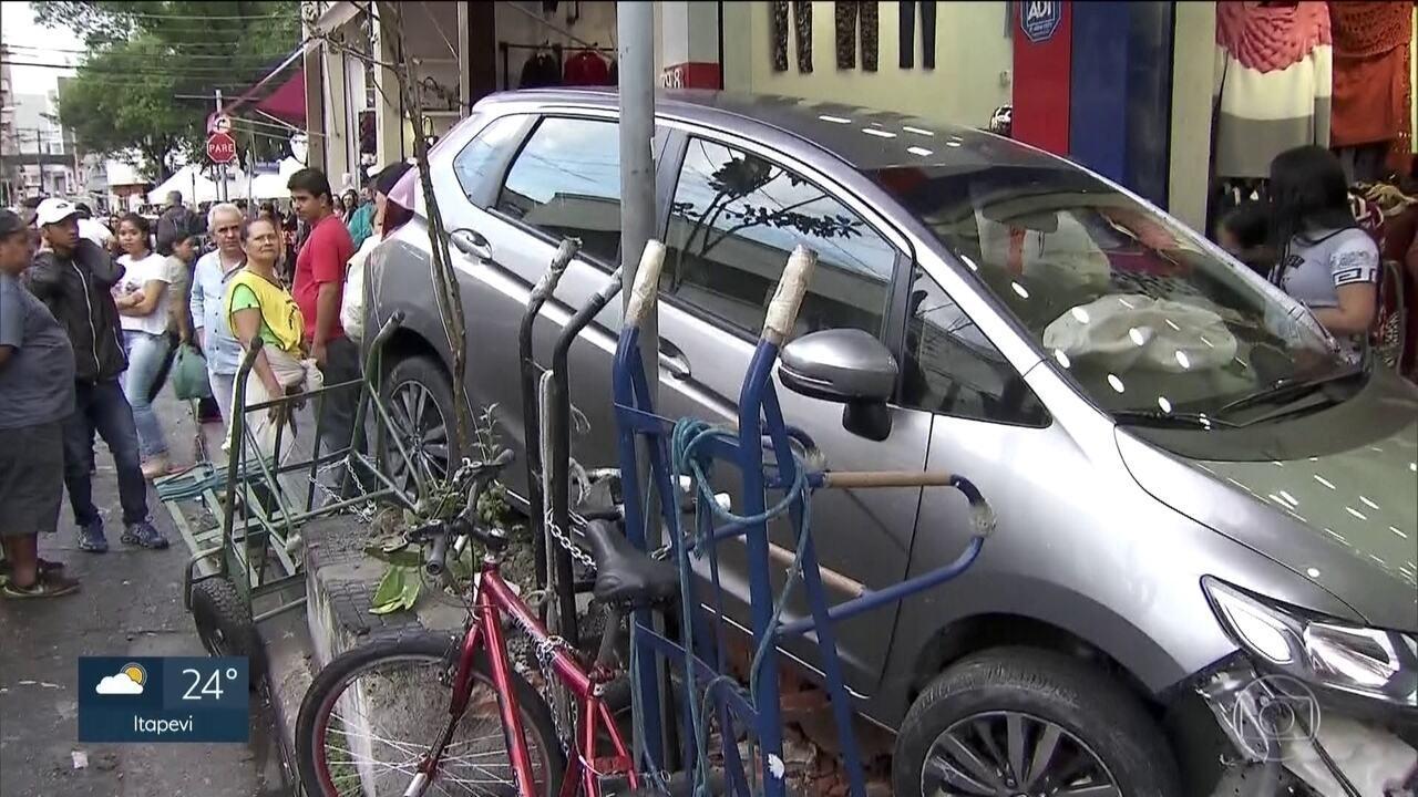 Três acidentes graves deixam quatro pessoas feridas em São Paulo
