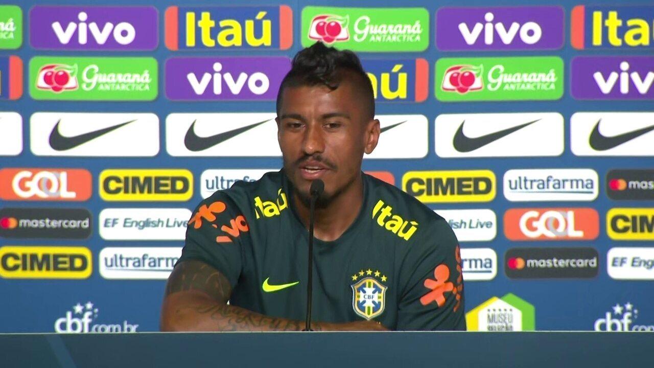 Paulinho diz que foi jogar na China porque buscava uma sequência de jogos
