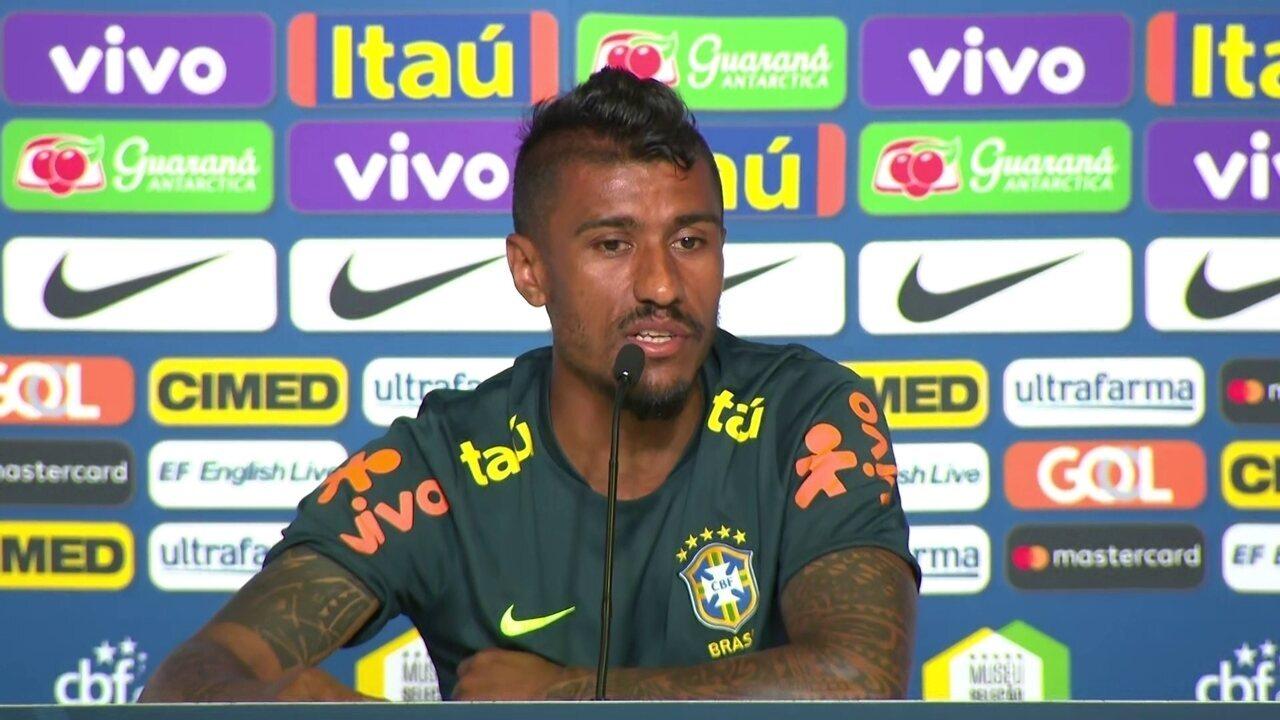 Paulinho afirma que atual grupo da Seleção é o melhor que já trabalhou