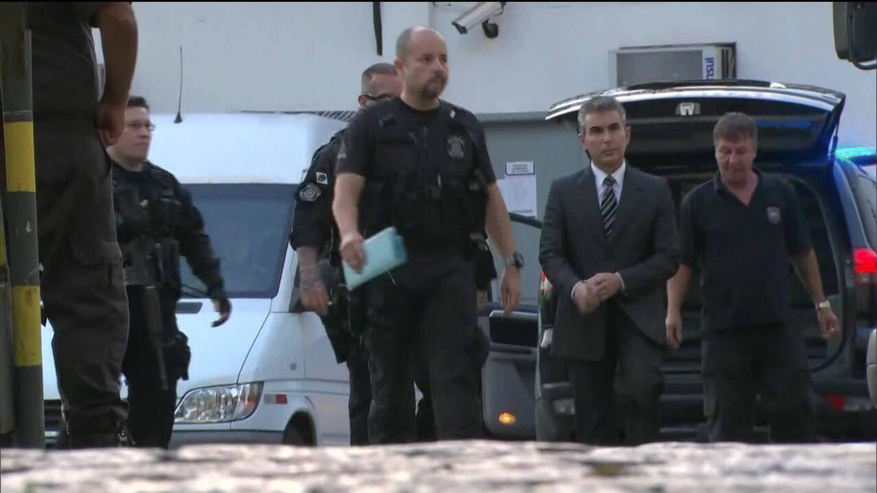 Contraventor Rogério Andrade é preso no Rio