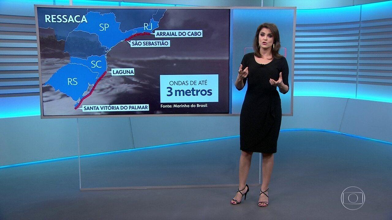 Veja como fica o tempo na quinta-feira (14)