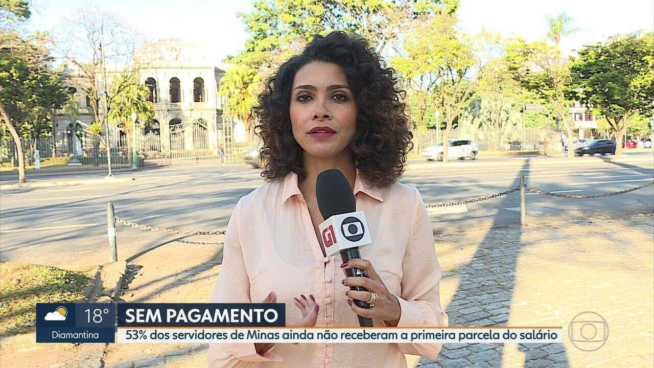 Governo de Minas Gerais paga 1ª parcela para apenas 47% dos servidores