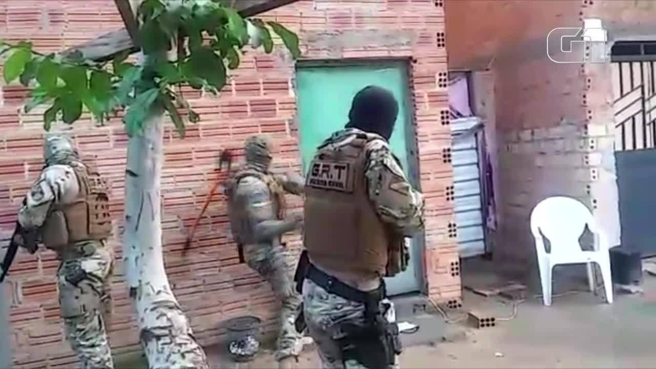 Polícia cumpriu dois mandados de busca e apreensão e dois mandados de prisão em Boa Vista