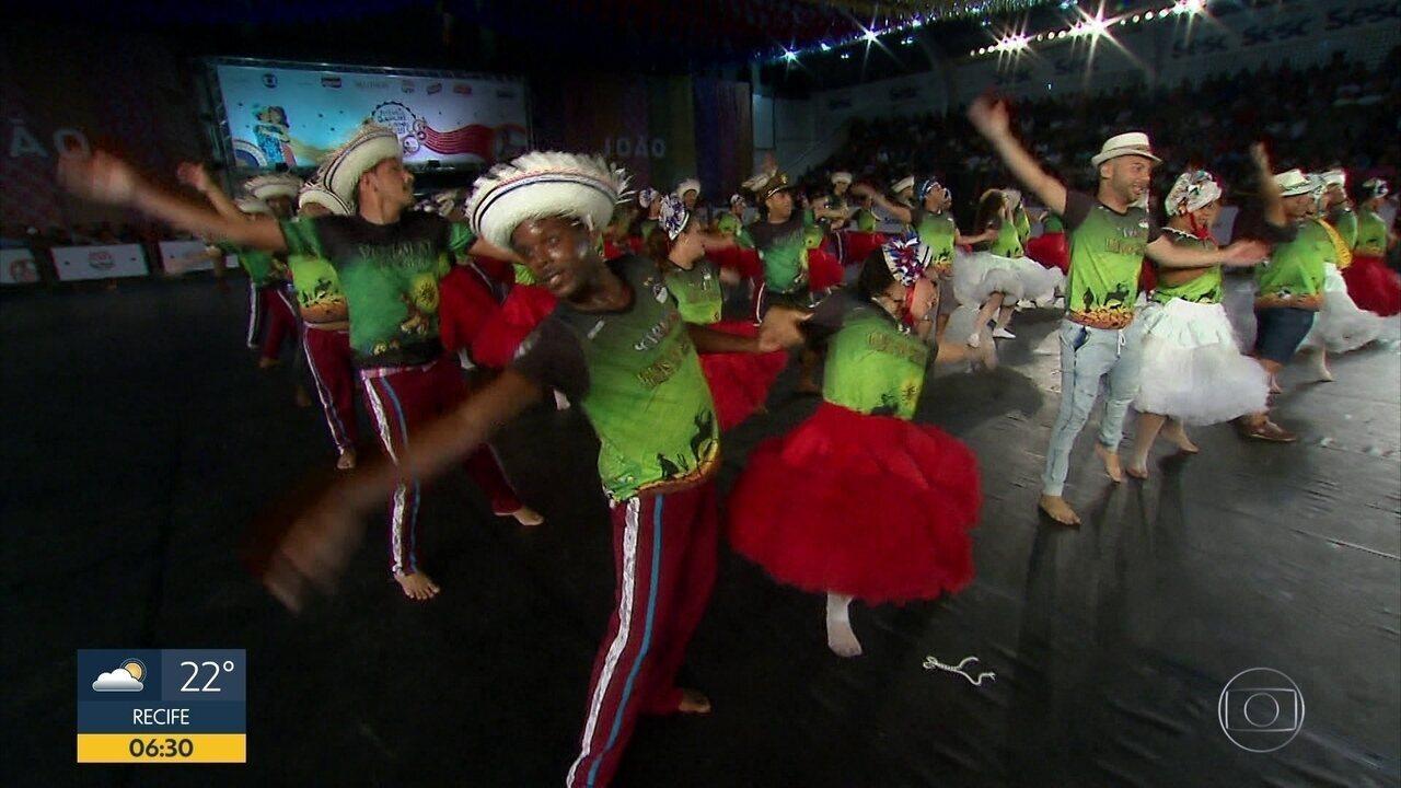 Variedade de temas marca quarta seletiva do Festival de Quadrilhas Juninas da Rede Globo