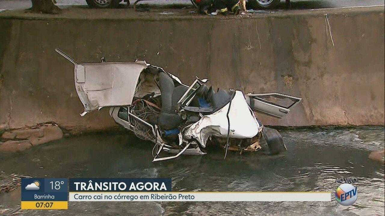Dois morrem em acidente na Avenida Francisco Junqueira em Ribeirão Preto