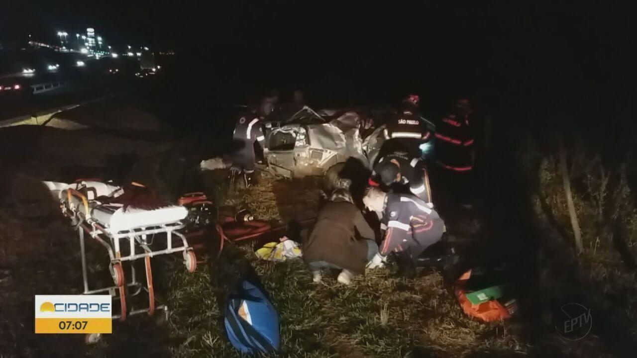 Acidente mata idoso de 69 anos a caminho de velório em São Carlos