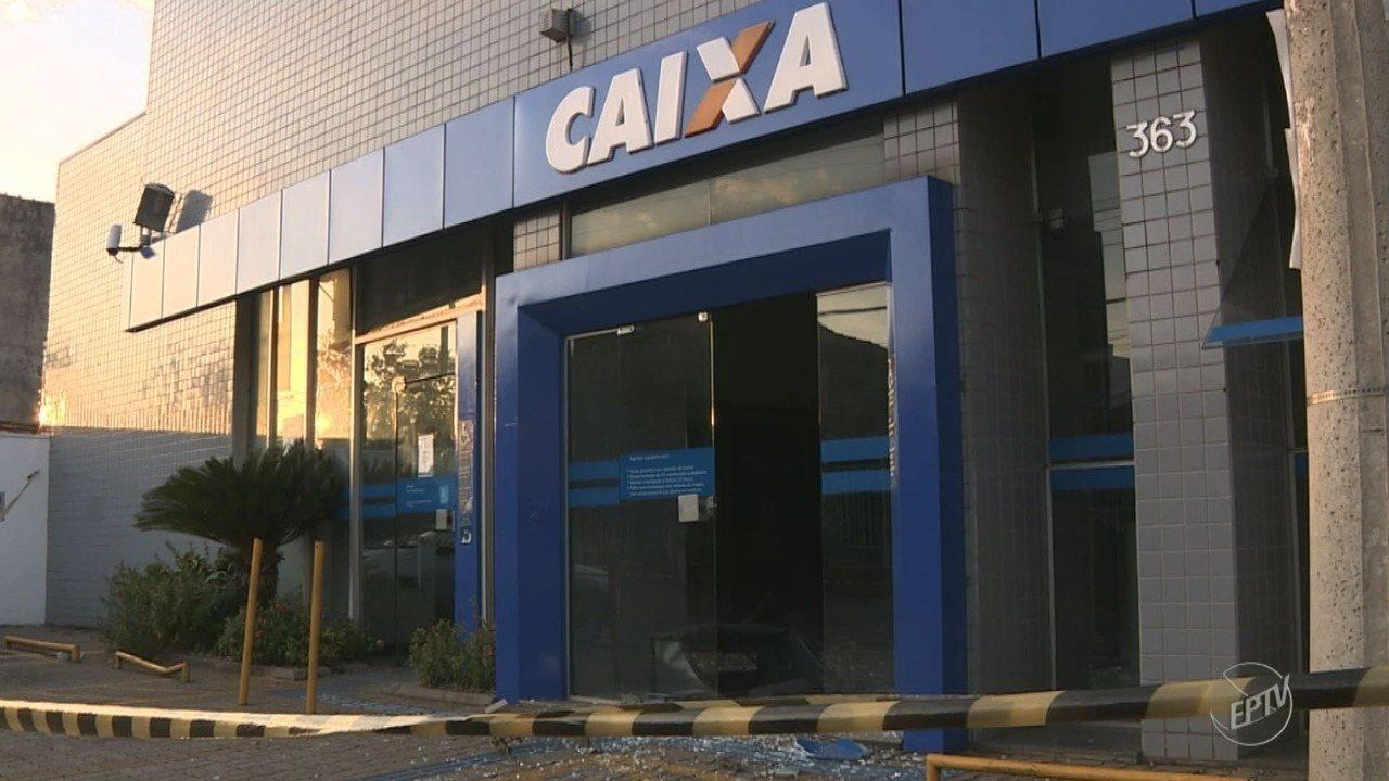 Criminosos explodem caixas eletrônicos em Santa Bárbara d'Oeste