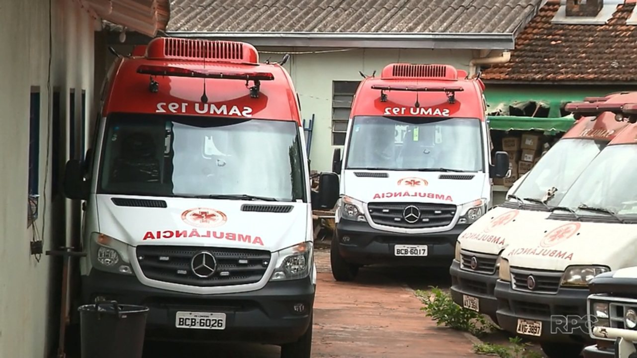 Ambulâncias novas estão paradas por falta de seguro em Londrina