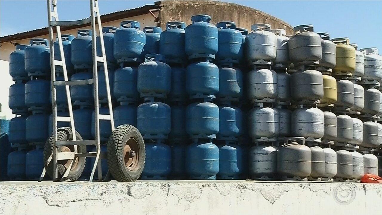 Abastecimento de gás continua irregular na região mesmo após fim da greve