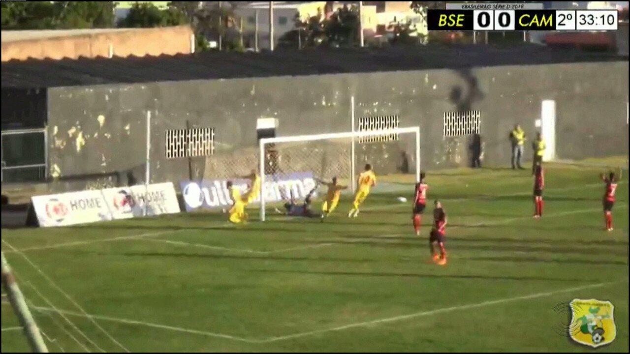 Campinense perde do Brasiliense por 1x0 pela Série D