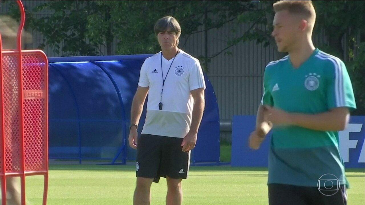 Sobra favoritismo para a Alemanha na partida de domingo (17) contra o México