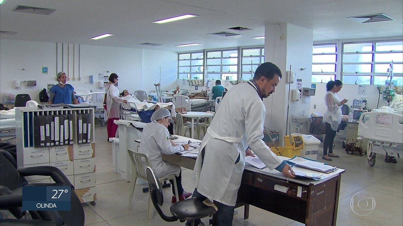 Cresce número de pacientes queimados em hospital no Recife após festas juninas