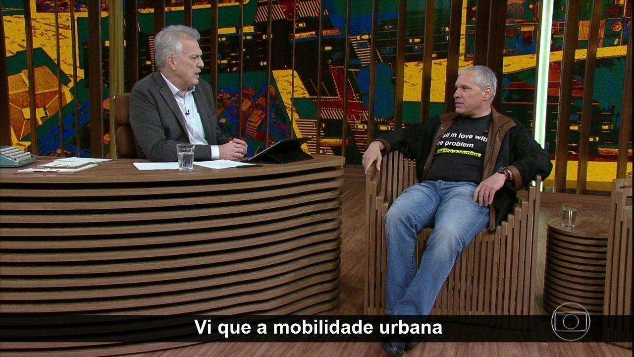 Uri Levine fala sobre mobilidade urbana