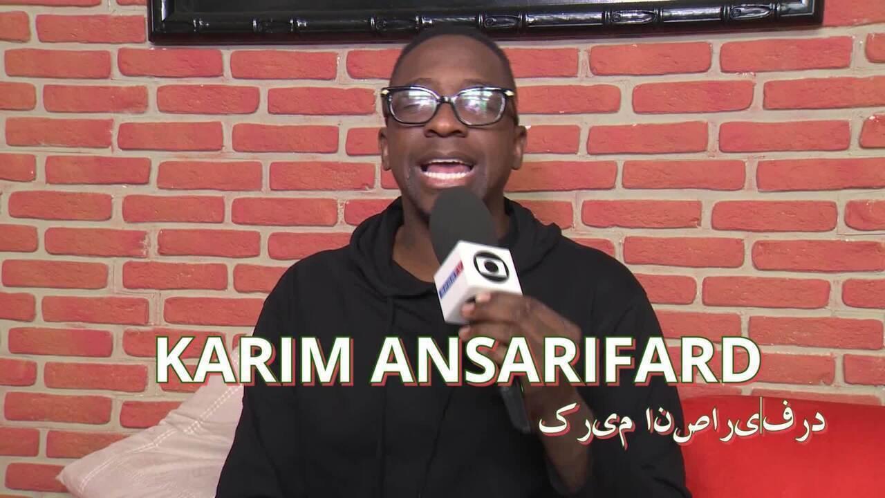 """""""Seleções Bizarras"""": Mumuzinho tem desafio com pronúncia de jogadores do Irã"""