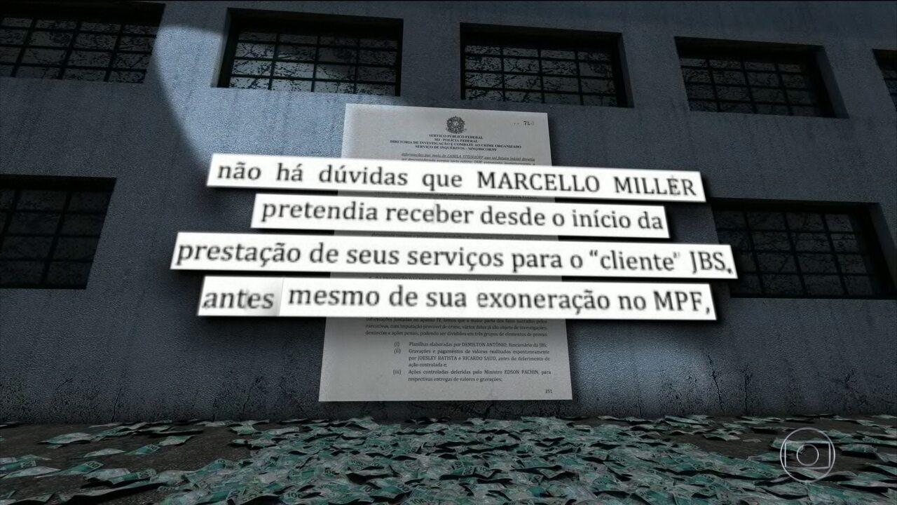 PF indicia ex-procurador Marcelo Miller e empresário Joesley Batista por corrupção