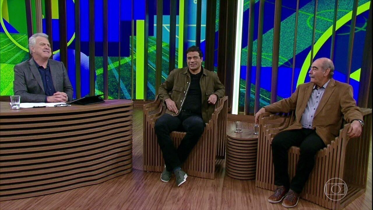 Rivellino e Raí falam sobre manifestações políticas durante a Copa de 2014