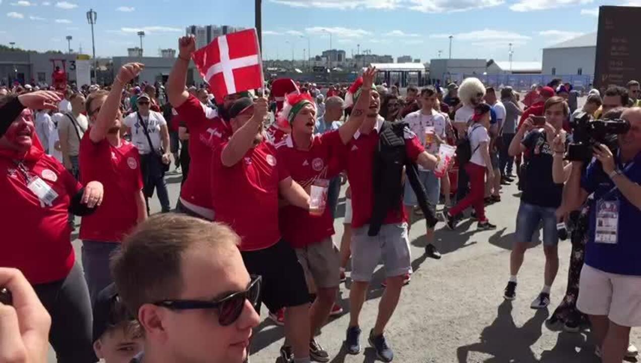 Música da torcida da Dinamarca na Copa