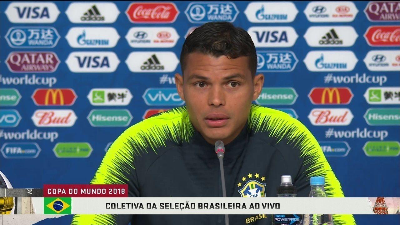 Thiago Silva sobre resgaste na Seleção e voltar a ser capitão:
