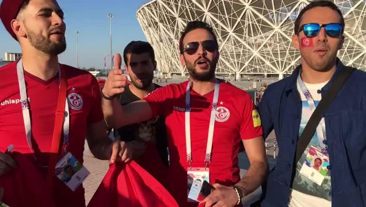 Música da Torcida da Tunísia na Copa