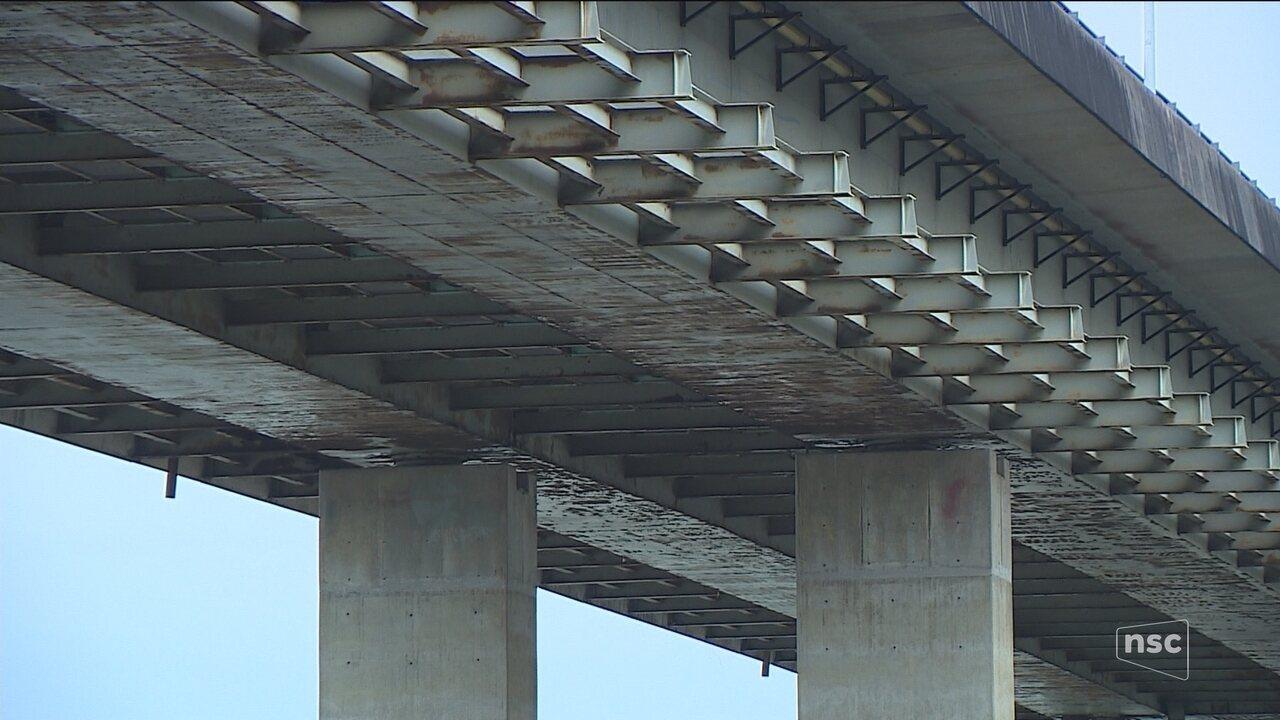 Com problemas estruturais, burocracia impede manutenção nas pontes da capital