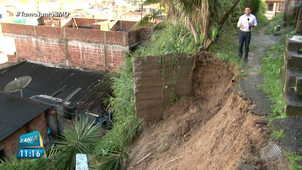 Prejuízos: chuva forte causa estragos em Itabuna, no sul do estado