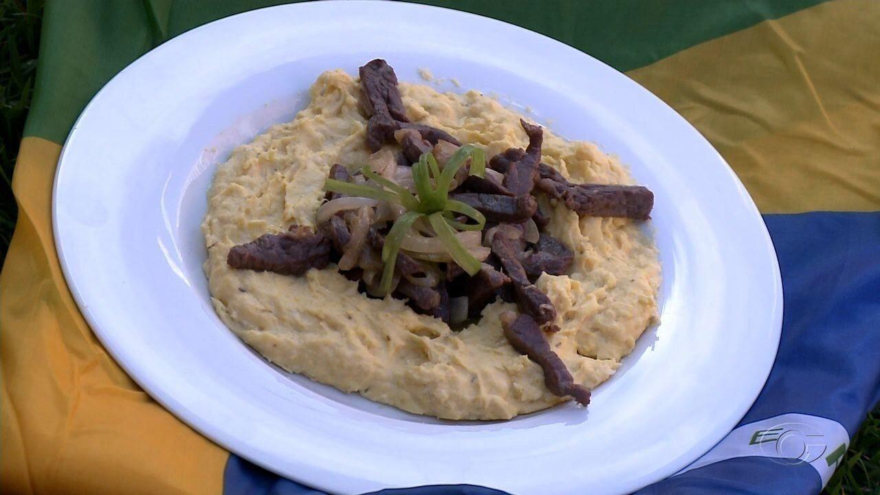 Concurso de Receitas Juninas: Cremoso de milho com carne de sol