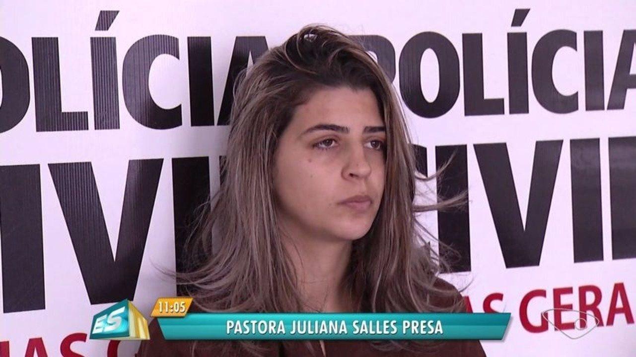 7888e37e1de3 Pastora presa pela morte dos filhos ficará em presídio de Colatina, ...