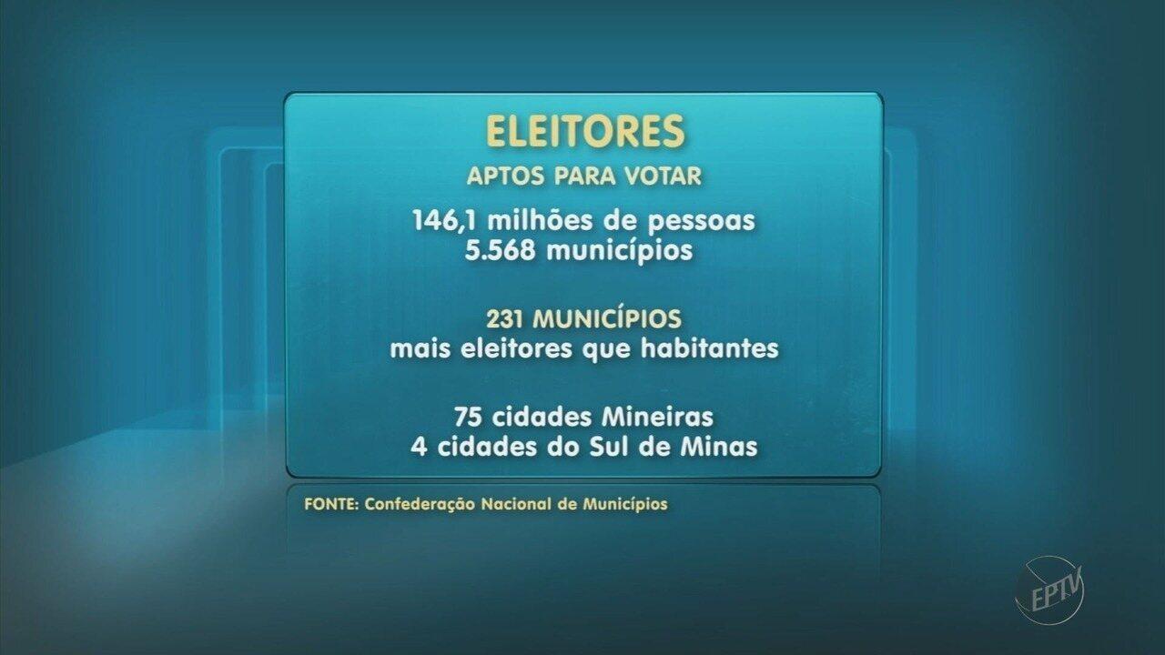 Quatro cidades do Sul de Minas têm mais eleitores do que habitantes, aponta estudo