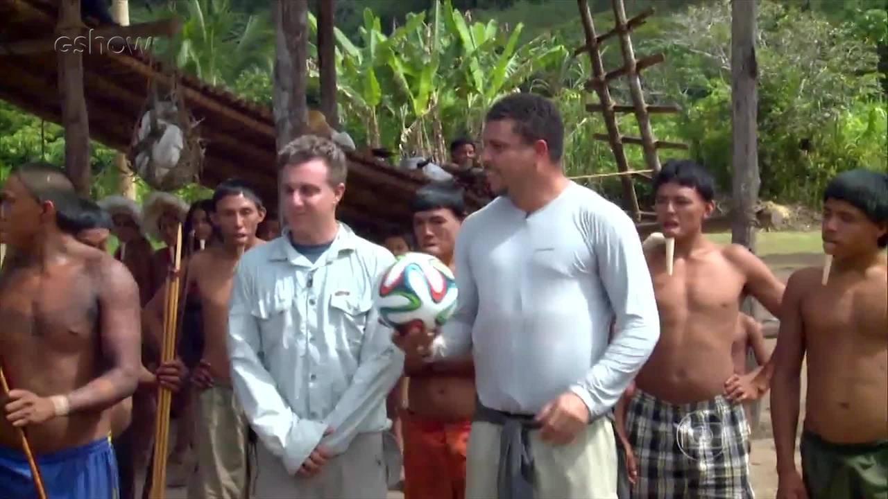 TBT: Ronaldo visita Aldeia isolada