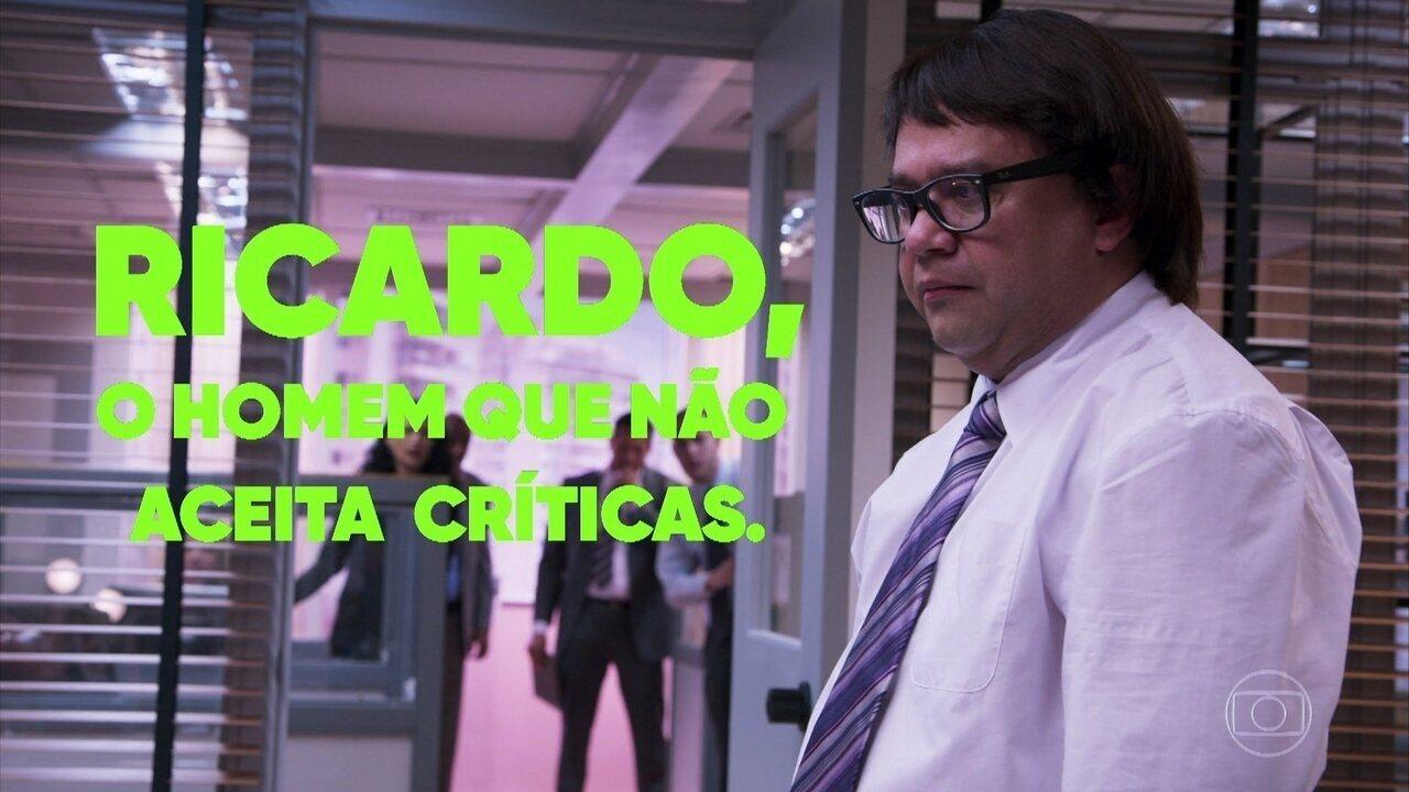 Ricardo, o Homem que não Aceita Críticas I