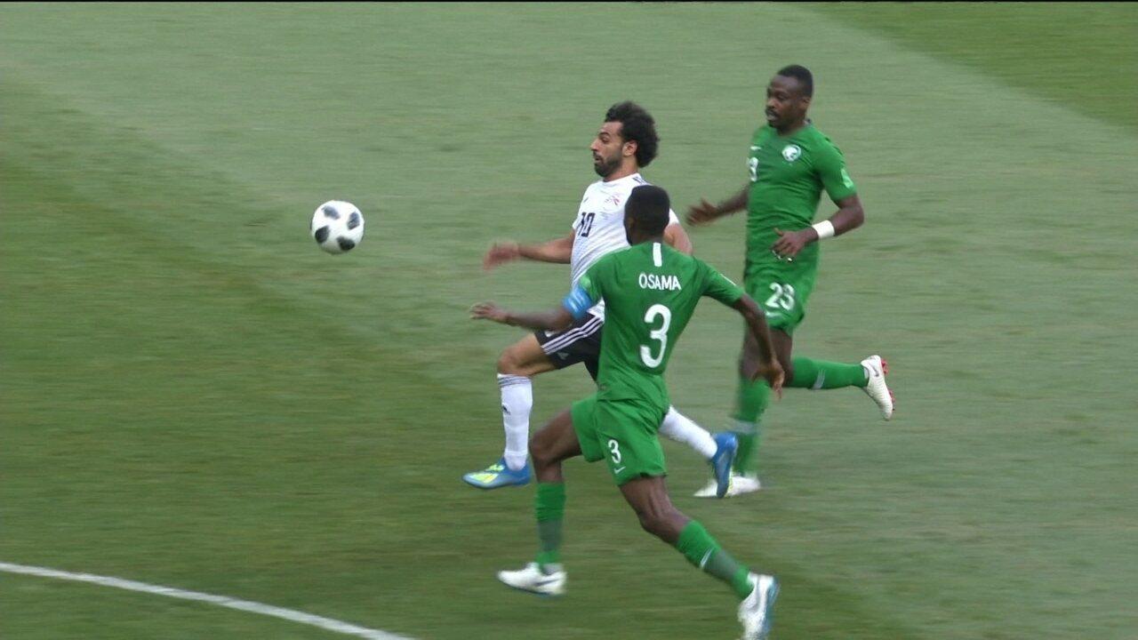 Os melhores momentos de Arábia Saudita 2 x 1 Egito pela Copa do Mundo 2018