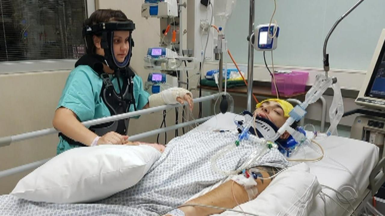 Família busca ajuda para trazer gaúcho que sofreu acidente na África do Sul para o RS