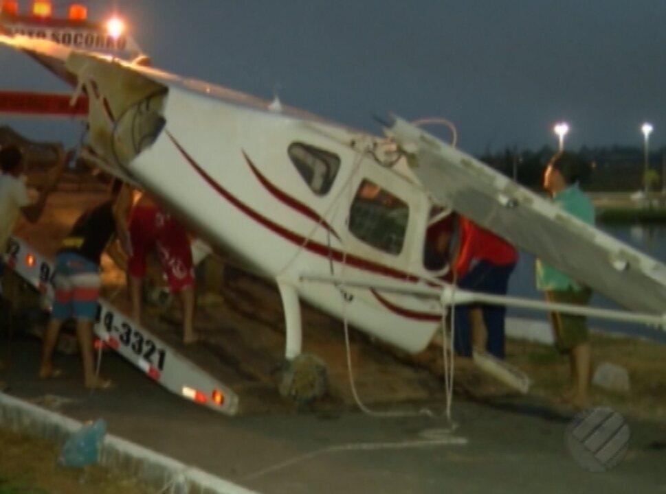 Vítimas de queda de avião em Parauapebas estão bem.