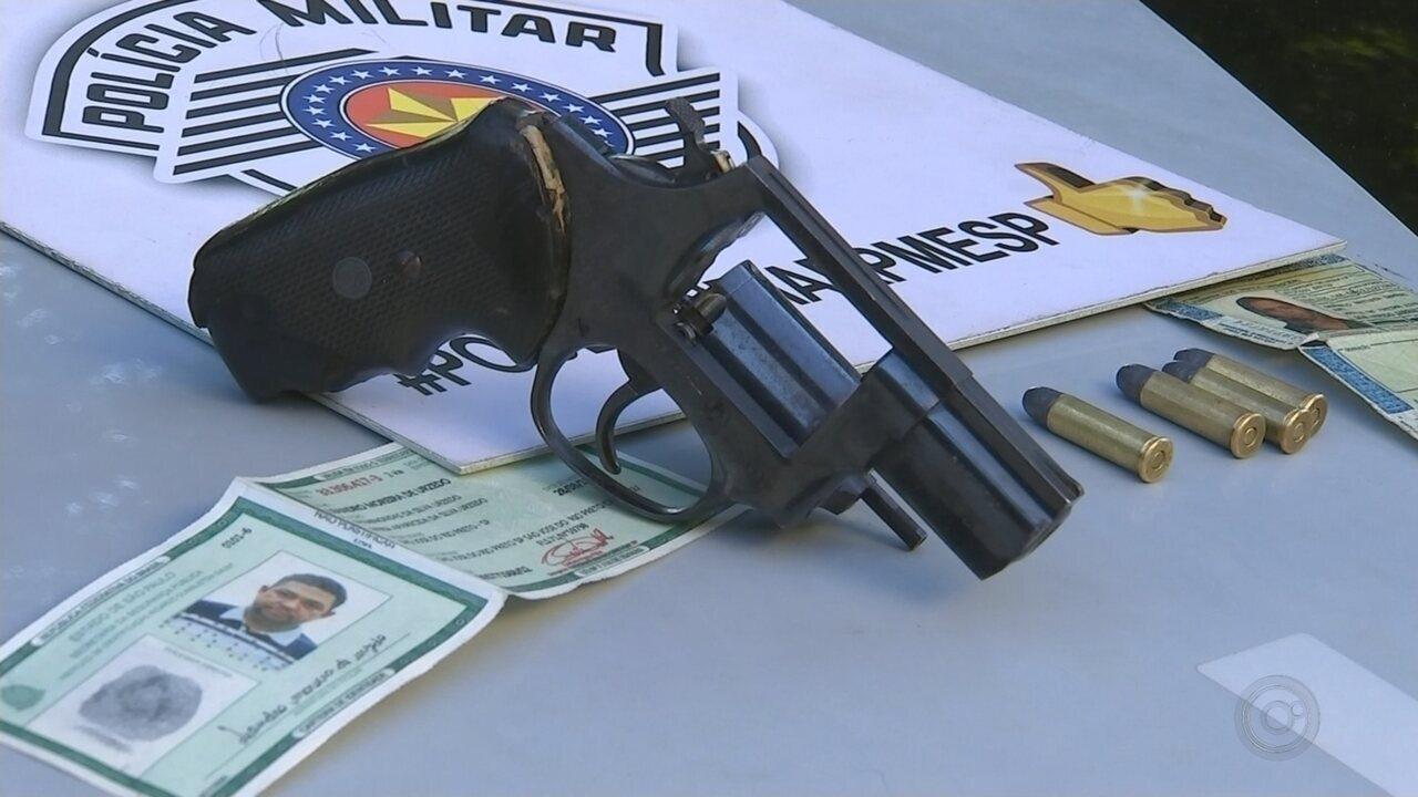 Suspeitos são presos após roubo de malotes transportados em rodovia de José Bonifácio