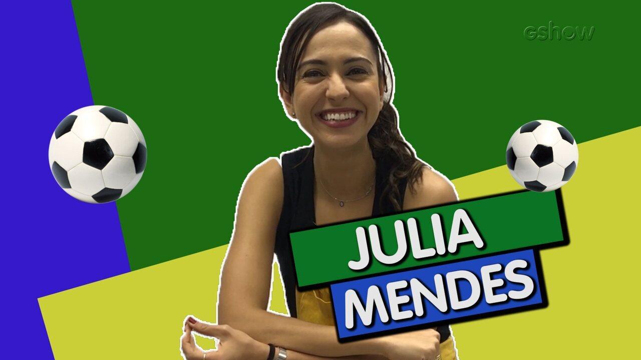 Quiz da Copa: Julia Mendes