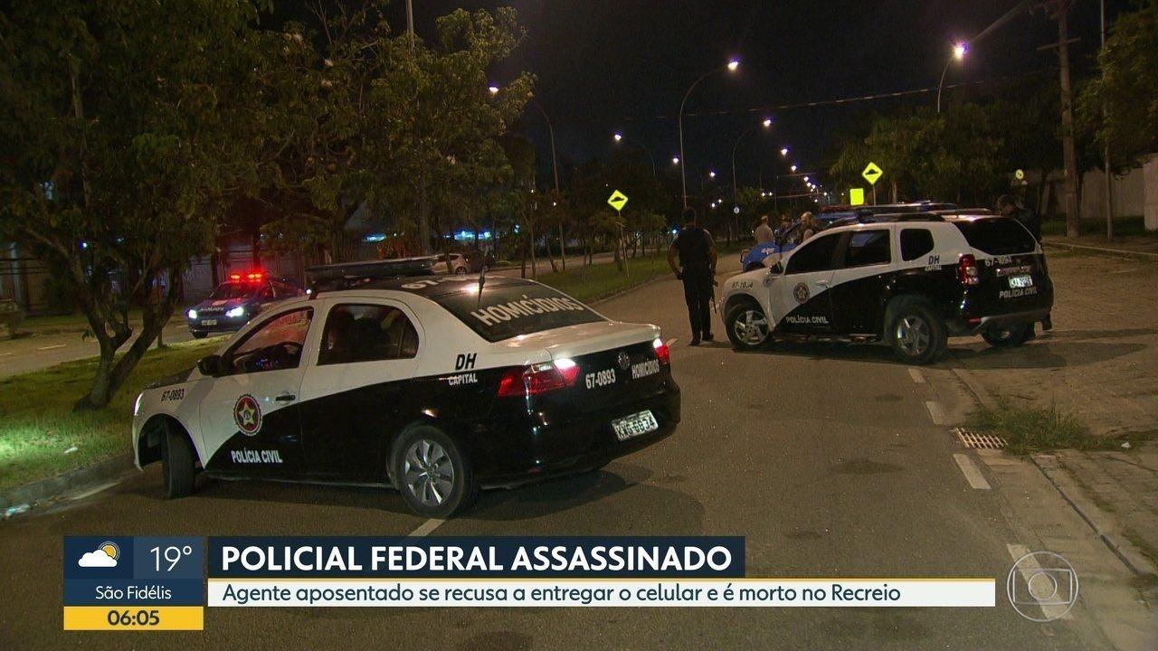 Policial Federal aposentado é morto durante assalto no Recreio dos Bandeirantes