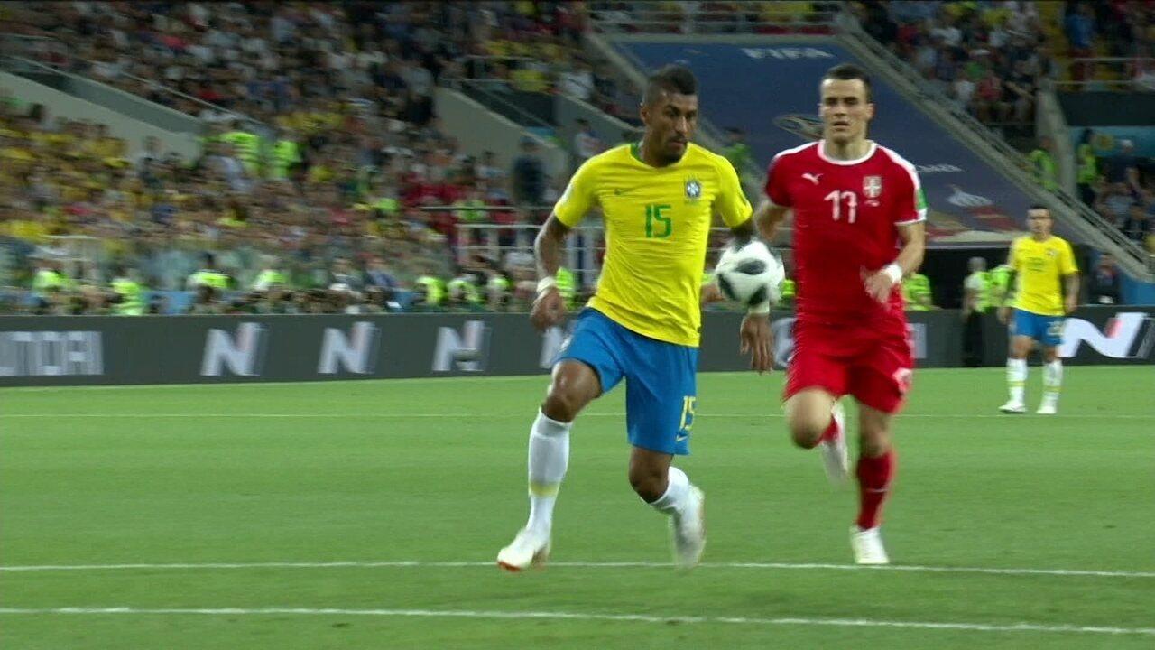 Melhores momentos de Sérvia 0 x 2 Brasil pela Copa do Mundo 2018